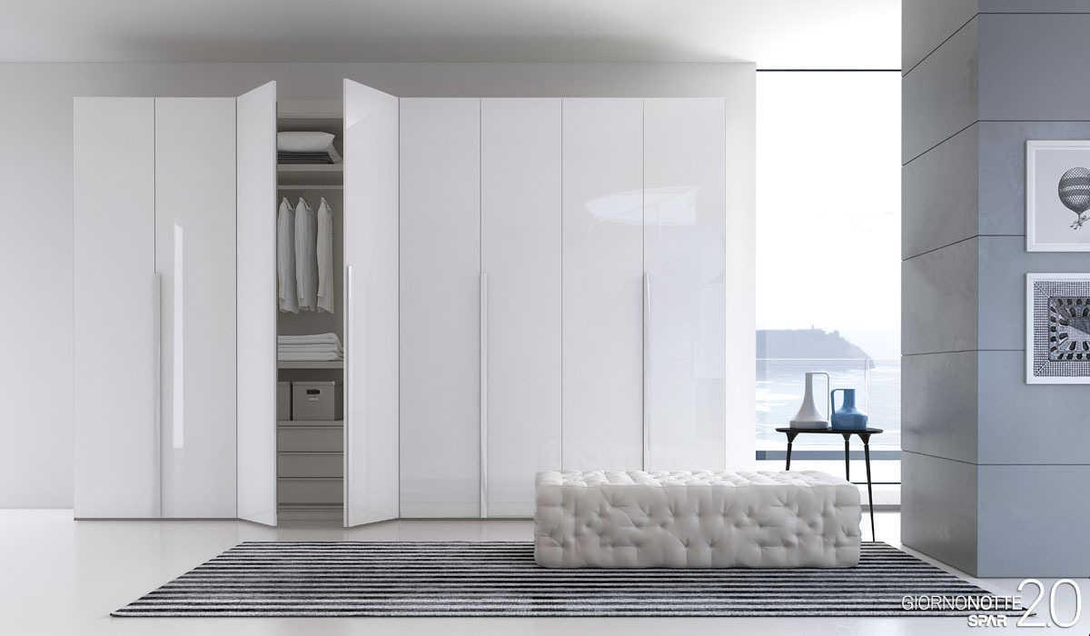 Camere moderne rosy mobili mobilificio nichelino - Camera da letto moderno ...