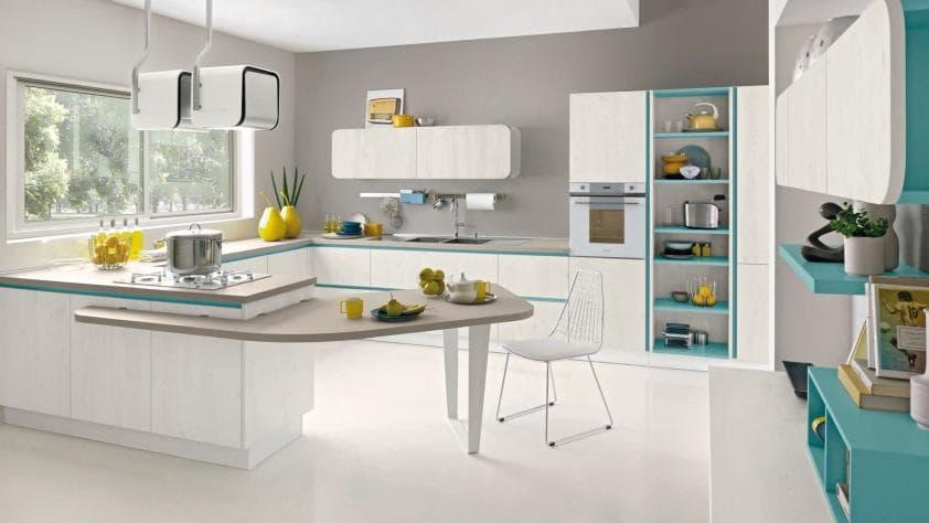 Cucine moderne rosy mobili mobilificio nichelino - Prezzi cucine lube moderne ...