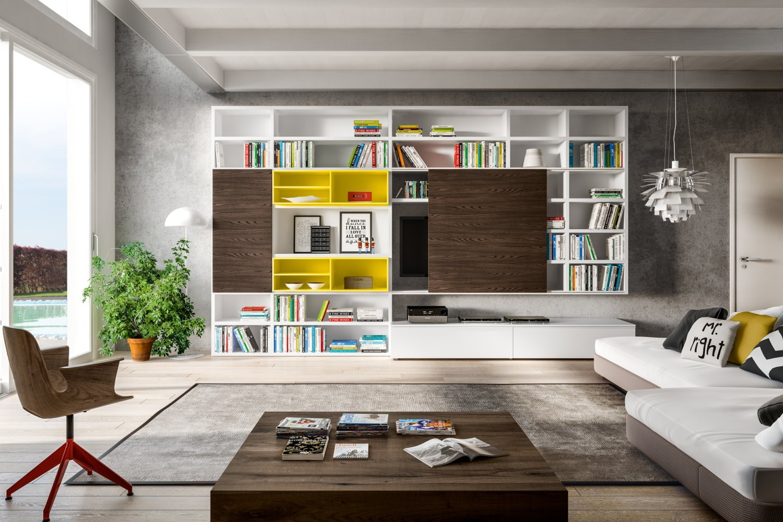 Soggiorni moderni rosy mobili mobilificio nichelino for Soggiorni moderni lissone